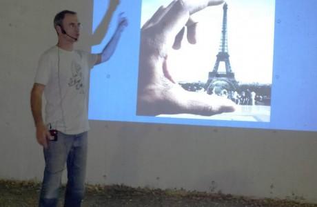 הרצאה מלווה במצגת בנושא אשליות אופטיות ותלת מימד בציור