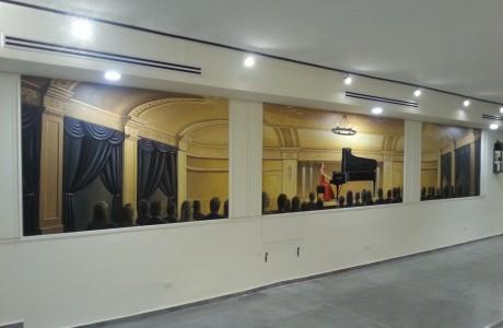 מלניק פסנתרים- אולם תצוגה חדש, תל אביב